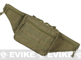 Voodoo Tactical Fanny Pack w/ Conceal Carry Pistol Holster - Coyote Brown