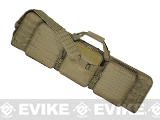 Voodoo Tactical 42 Lockable MOLLE Padded Weapons Case / Gun Bag - Coyote Brown