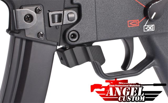 Angel Custom Extended Quick Release MP5 G3 GSG5 SOB H&K Magazine Catch Lever