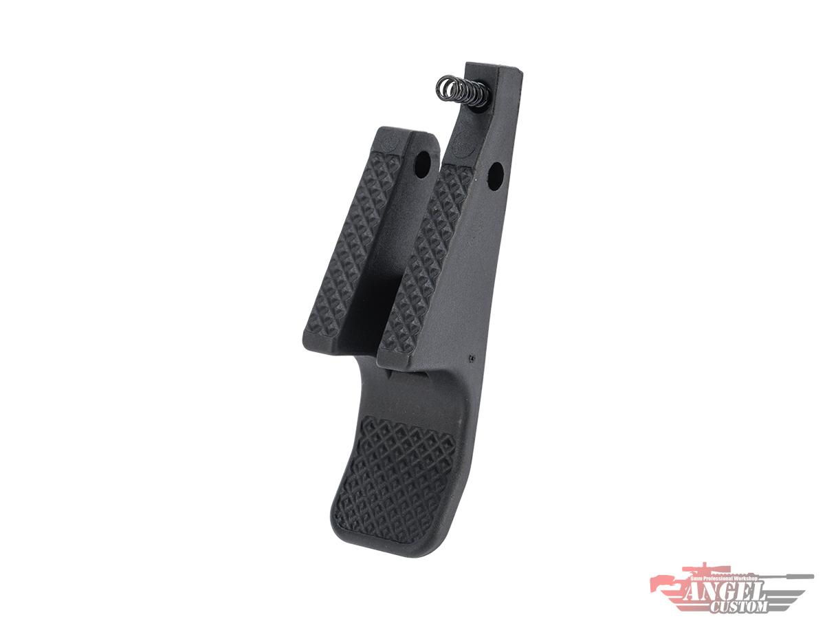 Angel Custom Polymer Extended Magazine Release for Scorpion EVO