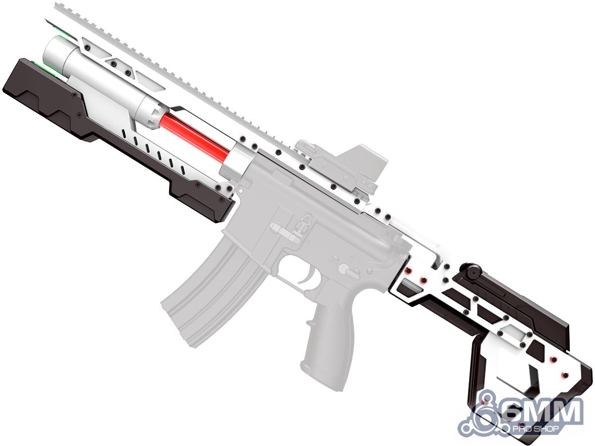 Pre-Order ETA May 2021 6mmProShop Stryker Electromagnetic Cannon Conversion Kit for M4 M16 AEG Rifles (Color: Trooper White)