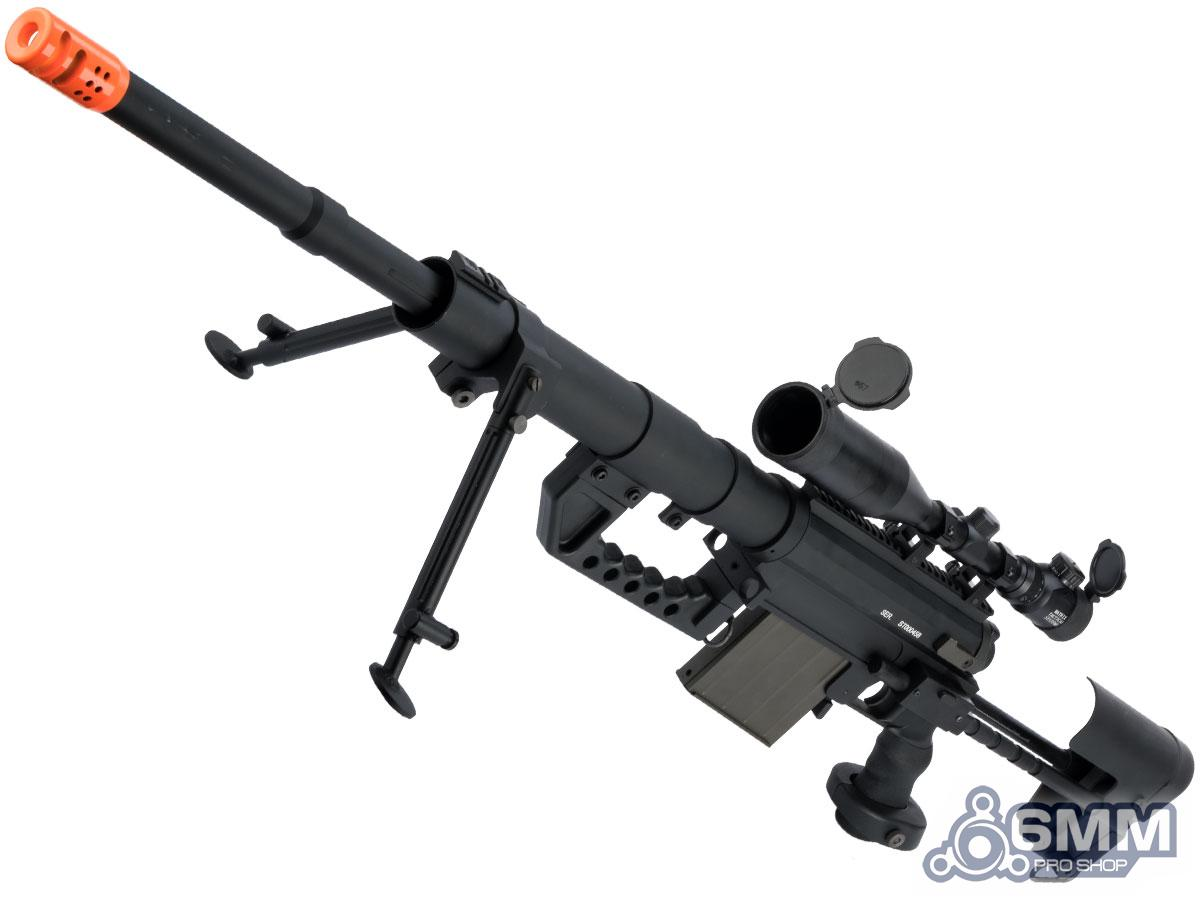 Pre-Order ETA August 2021 CheyTac Licensed M200 Intervention Bolt Action Custom Sniper Rifle (Model: Black / Add 3-12x50 Scope)