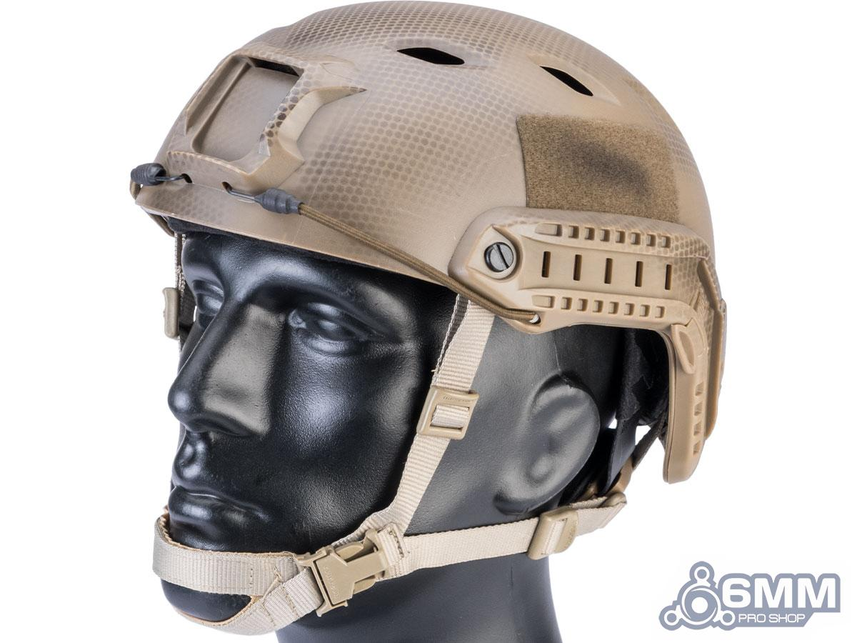 6mmProShop Advanced Base Jump Type Tactical Airsoft Bump Helmet (Color: Tan Navy Seal / Medium - Large)
