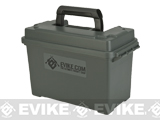 Evike.com Molded Polypropylene Large Stackable Ammo Can (Made in USA) by Plano