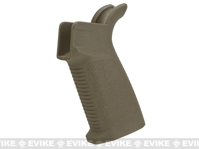 EMG Airsoft Strike Industries Licensed Polymer EPG Motor Grip for M4 Airsoft AEG Rifles (Color: Tan)