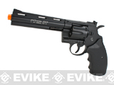 Colt Python Full Metal .357 Magnum High Power Airsoft CO2 Revolver by Cybergun (Length: 6)