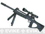 ASG TAC 4.5 CO2 Powered 4.5mm Airgun Sniper Rifle with Bipod