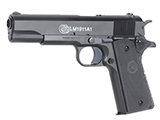 Colt Licensed Full Size M1911A1 Airsoft Spring Pistol with Metal Slide (Packaging: Clamp Shell)