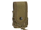 High Speed Gear HSGI MOLLE Mounted Covered Handcuff TACO Pouch - Coyote Brown