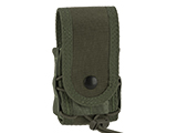 High Speed Gear HSGI MOLLE Mounted Covered Handcuff TACO Pouch - OD Green