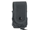 High Speed Gear HSGI MOLLE Mounted Covered Handcuff TACO Pouch (Color: Wolf Grey)