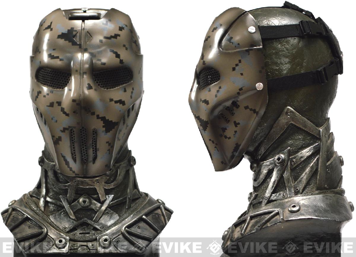 Evike.com R-Custom Fiberglass Wire Mesh Digital Urban Camo Mask Inspired by Brink