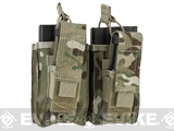Condor MOLLE Double Kangaroo M14 & Pistol Mag Pouch (Color: Multicam)