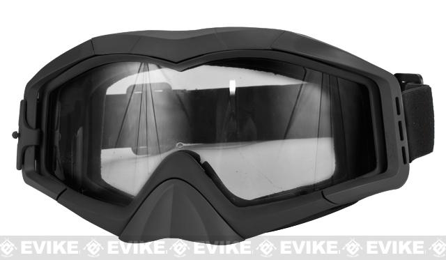 Avengers Tactical Airsoft Gaming Extreme Sports Goggles (Color: Black)