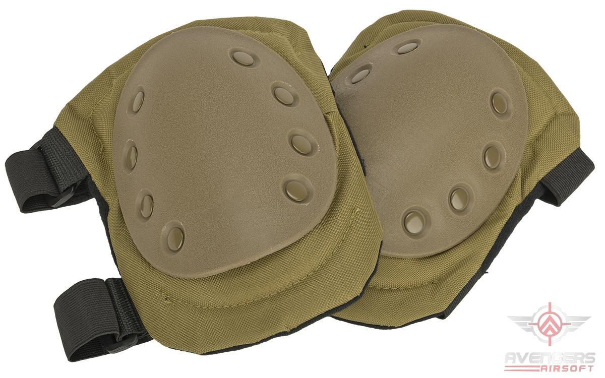 Avengers Special Operation Tactical Knee Pad Set (Color: Tan)