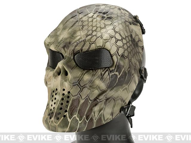 Avengers Full Face Mesh Mask (Style: Lander)