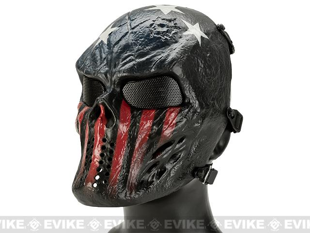 Avengers Full Face Mesh Mask (Style: Captain)