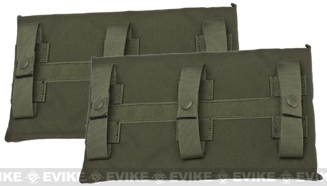 Avengers MOLLE Side Panel for Airsoft Plate Carriers (Color: Ranger Green / Large)