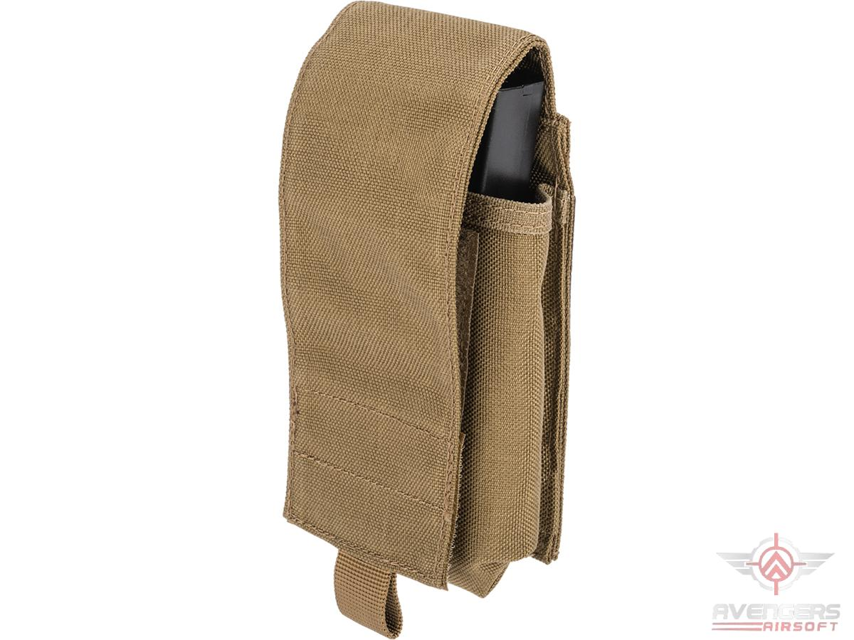 Avengers Tactical Double Stack M4 / M16 / AR Magazine Pouch (Color: Coyote Brown)