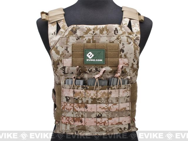 Avengers Compact Operator Airsoft High Speed JPC Plate Carrier (Color: Digital Desert / X-Large)