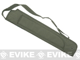 Voodoo Tactical MOLLE Shotgun Scabbard w/ Machete Sheath - OD Green
