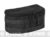 Voodoo Tactical Rounded MOLLE Utility Pouch (Color: Black)