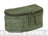 Voodoo Tactical Rounded MOLLE Utility Pouch (Color: OD Green)