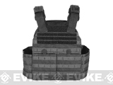 Voodoo Tactical X-Lite Gen II Plate Carrier with Cummerbund (Color: Black / Small)
