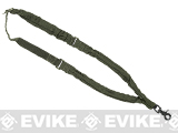 Voodoo Tactical Single Point Bungee Rifle Sling - OD Green