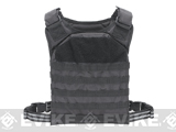 Voodoo Tactical MOLLE Hayden Plate Carrier for Soft or Hard Armor - Black