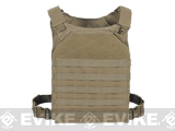 Voodoo Tactical MOLLE Hayden Plate Carrier for Soft or Hard Armor - Coyote Brown