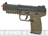 FN Herstal Five-seveN FN-57 Airsoft CO2 Gas Blowback Pistol (Color: Dark Earth)