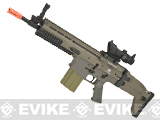 FN Herstal Full Metal SCAR Heavy CQC Airsoft AEG Rifle by Softair - Tan