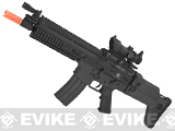 FN Herstal Licensed SCAR-L Airsoft AEG Rifle by Softair/Cybergun - Black