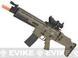 FN Herstal Licensed SCAR-L Airsoft AEG Rifle by Softair/Cybergun - Tan