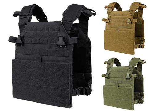 Condor Vanquish Plate Carrier (Color: Black)