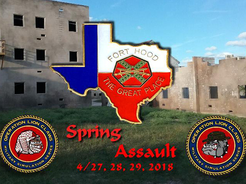 Operation Bulldog (April 27th~29th, 2018 , Fort Hood, Fort Hood Texas)