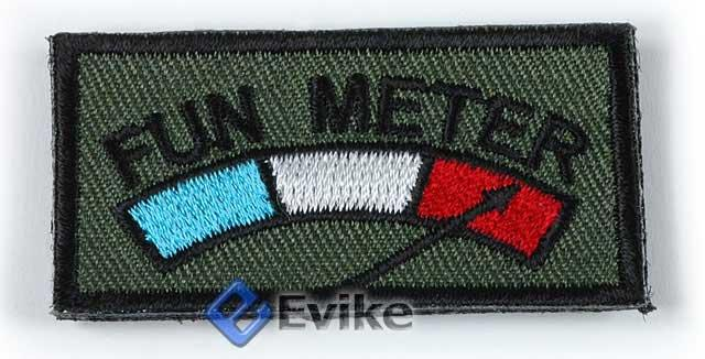 Matrix Very Tactical IFF Fun Meter Hook and Loop Patch (OD)