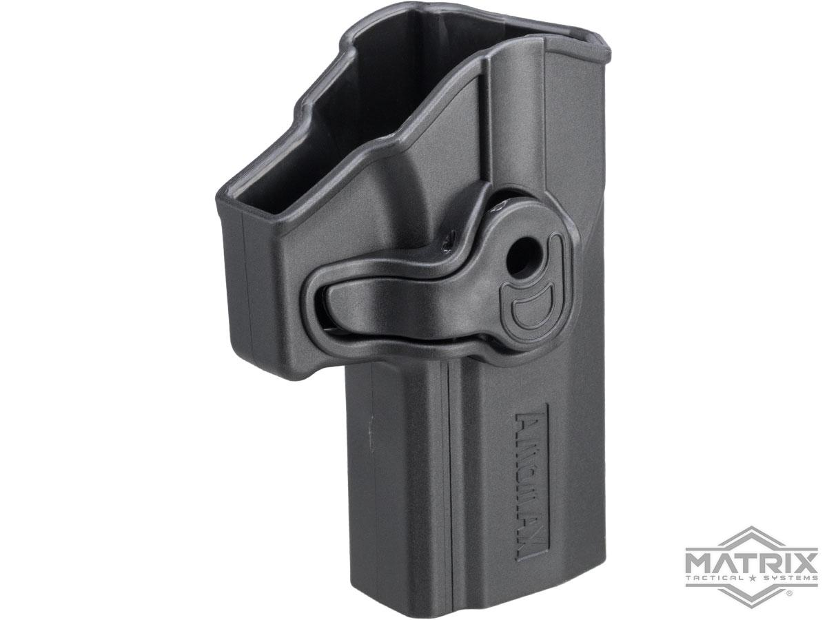 Matrix Hardshell Adjustable Holster for P320 Carry Series Pistols (Type: Black / No Mount)