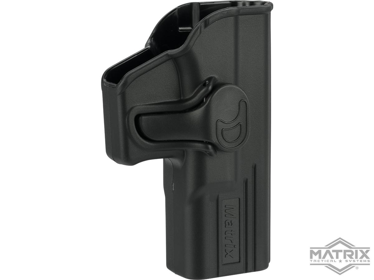 Matrix Hardshell Adjustable Holster for Glock G19, G17, ATP ACP Series Airsoft Pistols (Type: Black / No Mount)