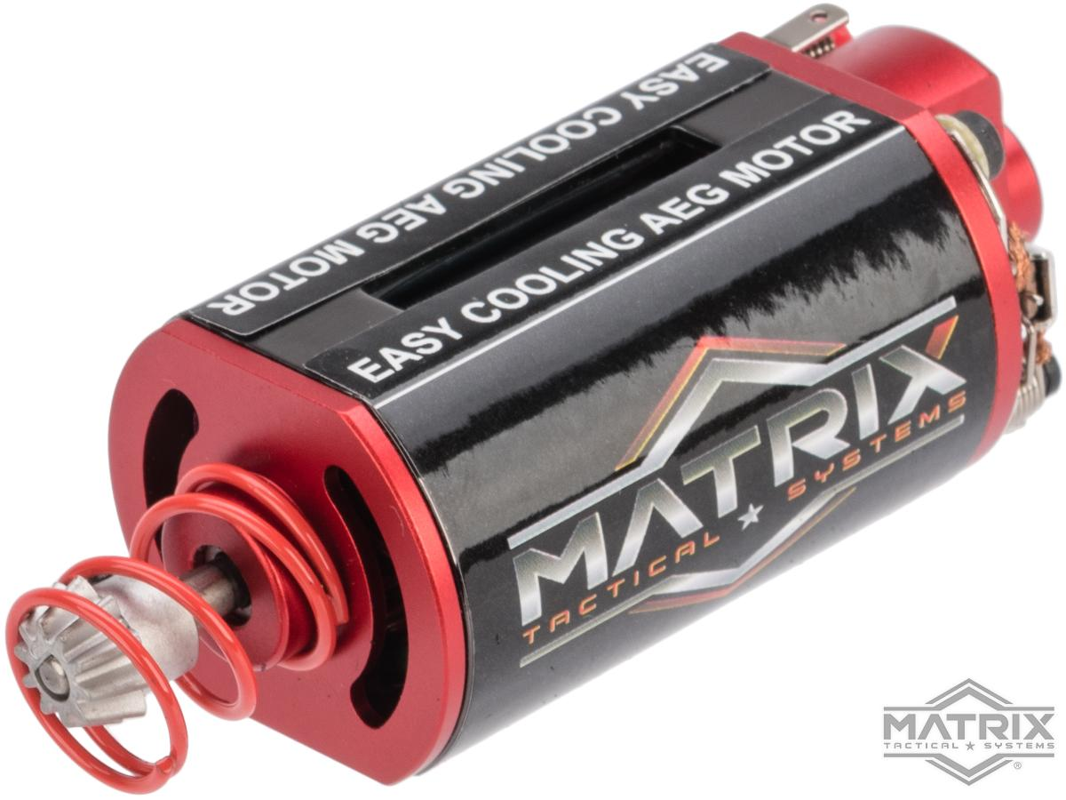 Matrix Reloaded High Performance Airsoft AEG Motor (Model: Short Type / Balanced Torque-Speed)