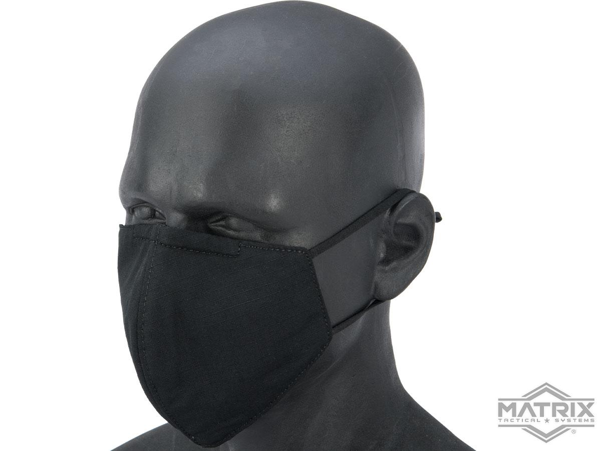 Matrix Knight Reusable Face Mask Sleeve for N95 Face Masks (Color: Black)
