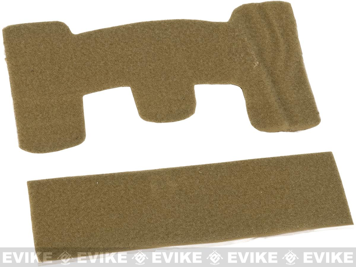Matrix Loop Adhesive Strips for Tactical Helmets (Color: Tan)