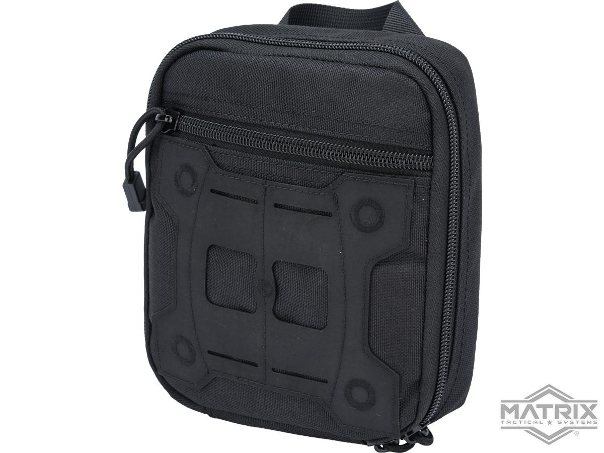Matrix Laser Cut Hypalon Medical Sundries Bag (Color: Black)