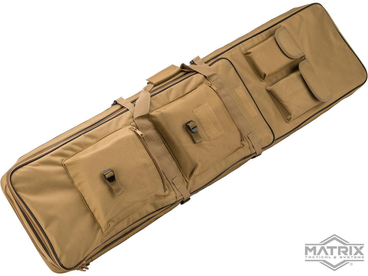 Matrix Tactical Single Padded Rifle Bag with Extension (Color: Tan / 47)