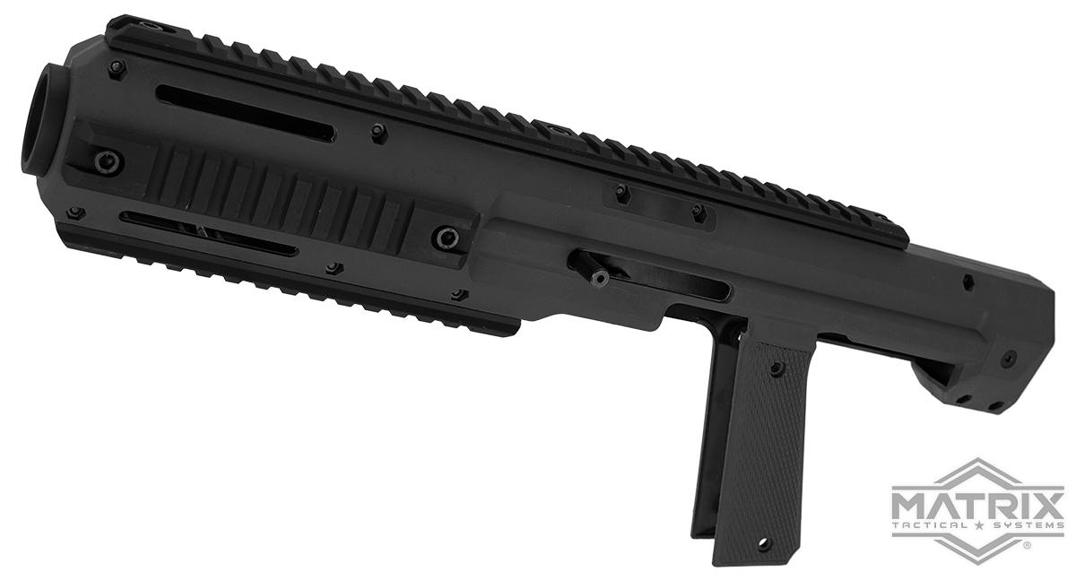 Matrix Carbine Conversion Kit for 1911 MEU Series Airsoft GBB Pistols (Color: Black)