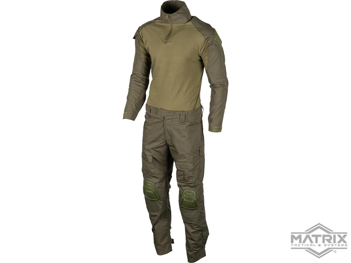 Matrix Combat Uniform Set (Color: Ranger Green / Small)