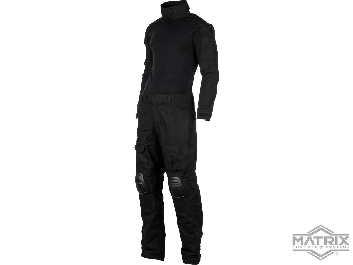 Matrix Combat Uniform Set (Color: Black / Small)