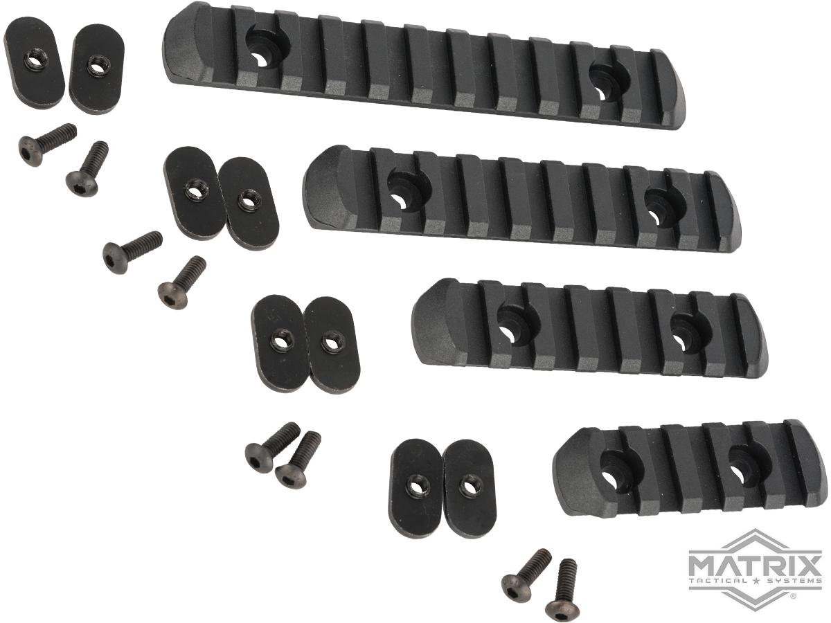 Polymer Rail Set for PTS MOE Hand Guard Series (Color: Black)