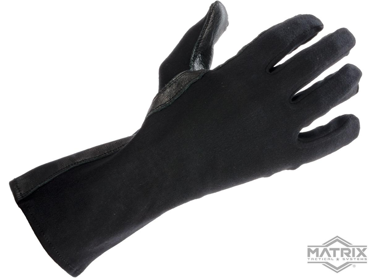 Matrix Nomex Special Ops. Tactical Gloves (Color: Black / Medium)